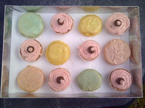 Box of cakes