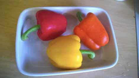 Peppers raw