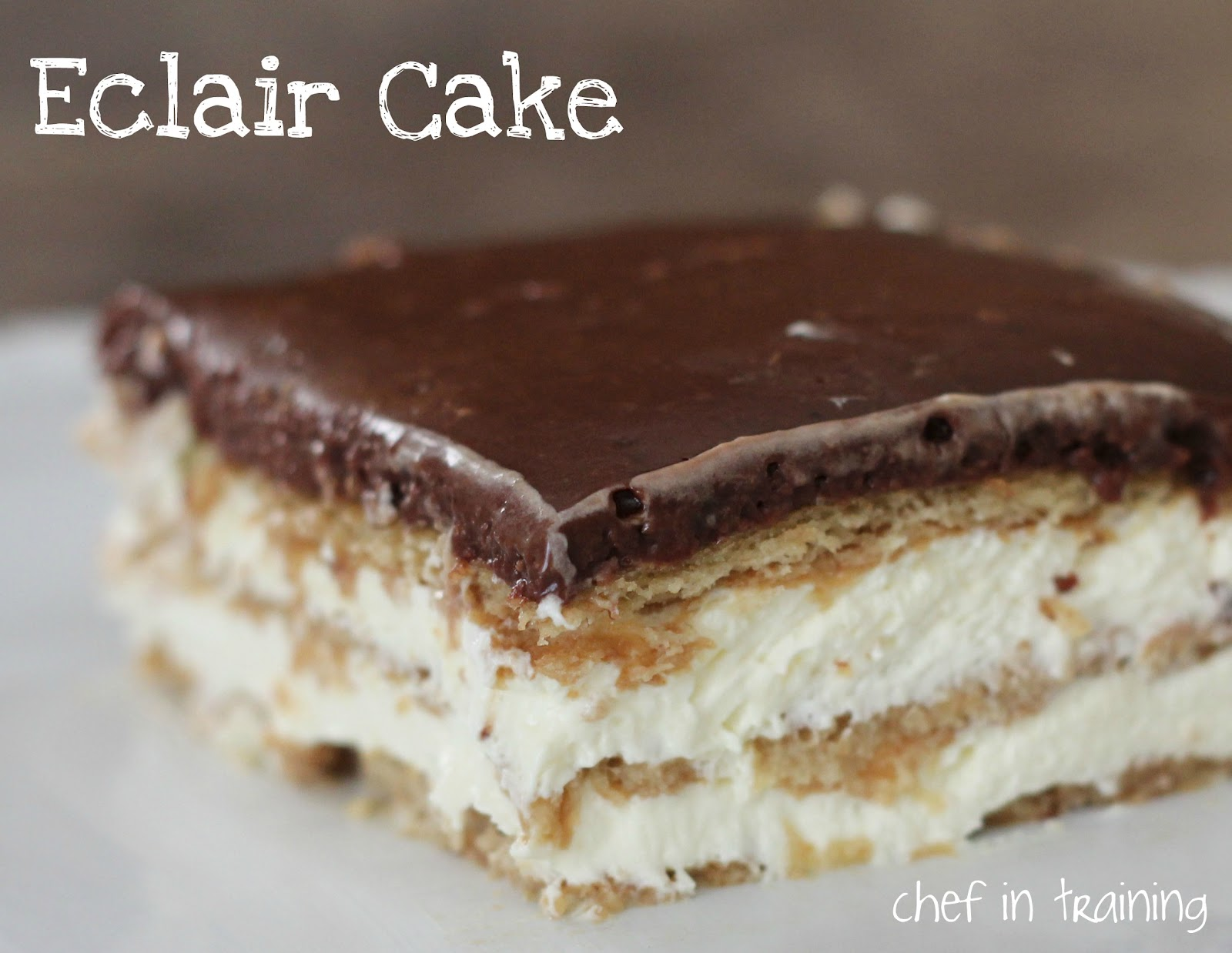 Easy Eclair Cake Recipe