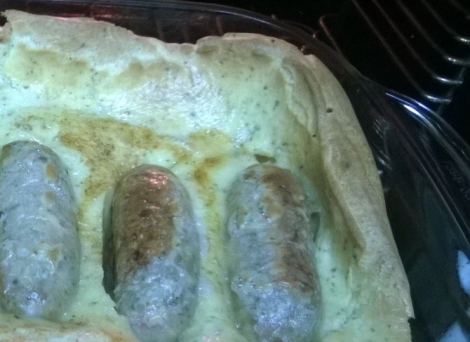 Toad in the hole corner