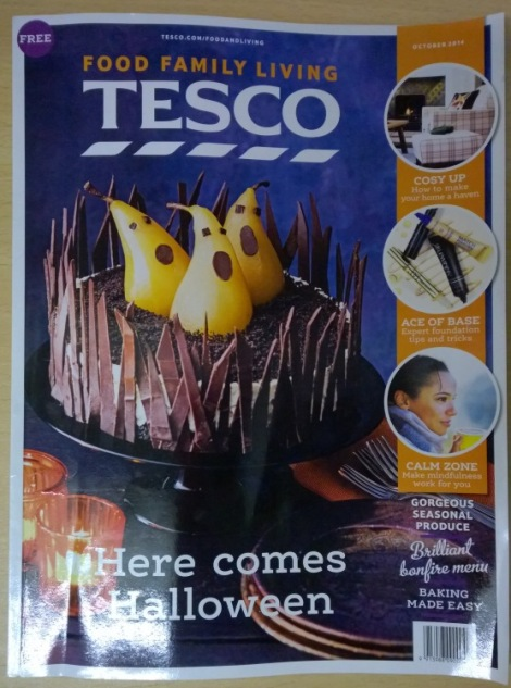 Tesco magazine