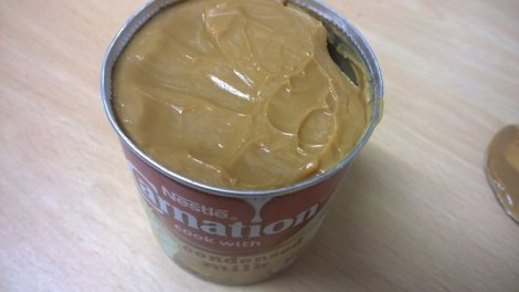 Condensed milk caramel