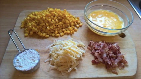 Fritter ingredients