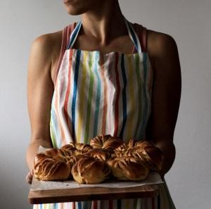 Baking lady